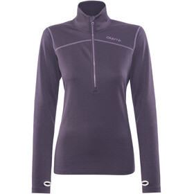 Craft Pin Halfzip Pullover Women Rich Melange/Montana